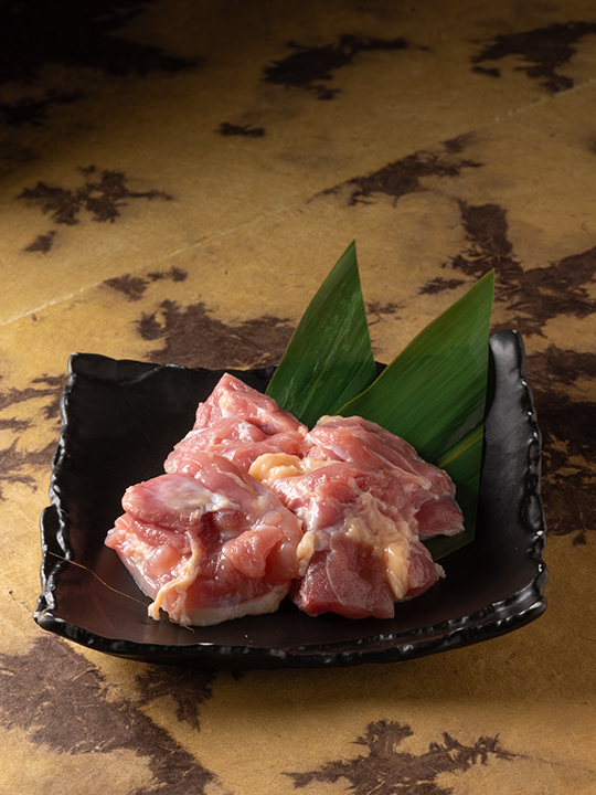 焼肉孫三郎の赤鶏タレ焼き