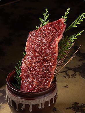 焼肉孫三郎の壺漬けドラゴンハラミ